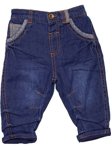 Jeans boy GEORGE blue 6 months winter #10235_1