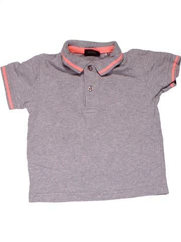 Short sleeve polo shirt boy NEXT purple 18 months summer #10264_1