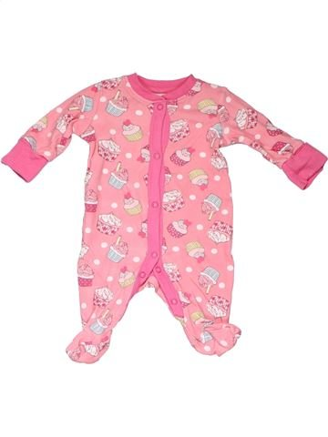 1 piece Pyjama girl NO BRAND pink new born winter #103_1