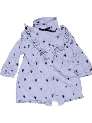 Long sleeve blouse girl NEXT gray 9 months winter #10403_1