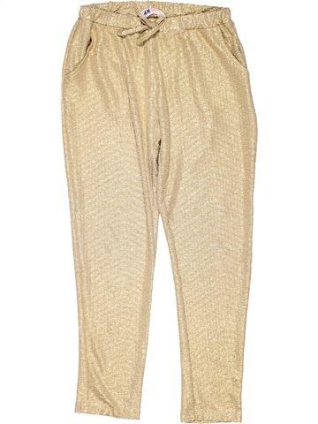 Trouser girl H&M beige 9 years summer #10457_1