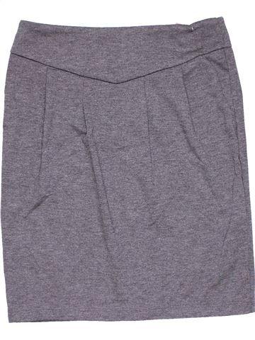 Skirt girl GEORGE gray 13 years winter #10603_1
