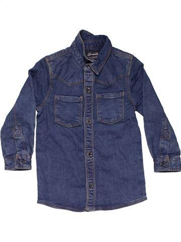 Long sleeve shirt boy DENIM CO blue 3 years winter #10809_1