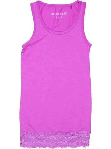 Nightgown girl A PUNTO pink 8 years summer #1111_1
