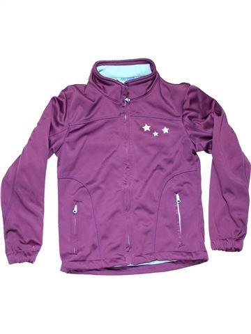 Sweatshirt girl ALIVE purple 10 years winter #11371_1