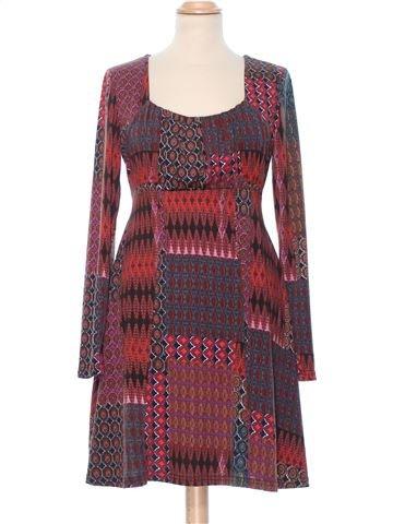Dress woman APRICOT M summer #11787_1