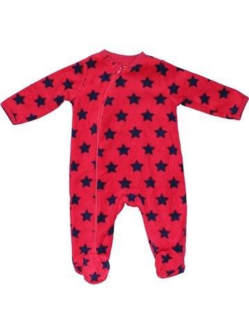 Long jumpsuit unisex BABY pink 3 months winter #12066_1