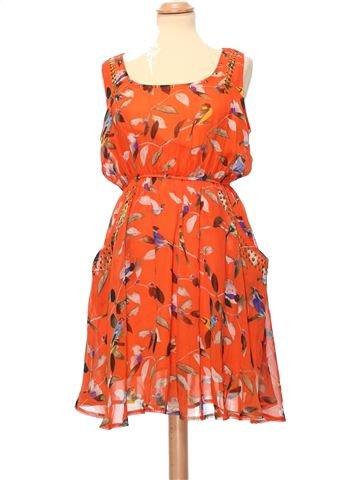 Dress woman APRICOT L summer #12534_1