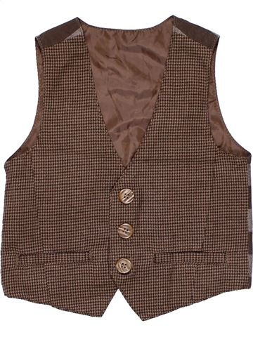 Vest unisex MOTHERCARE brown 3 years summer #1256_1
