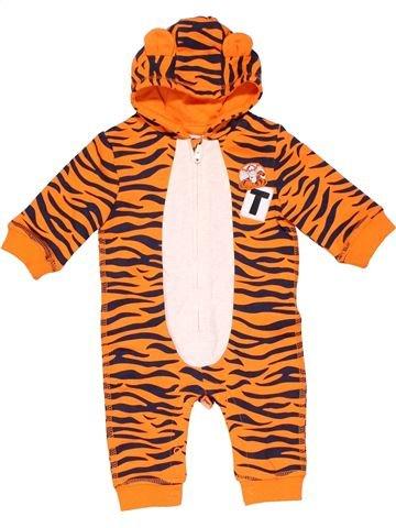 Long jumpsuit boy DISNEY BABY orange 3 months winter #12618_1
