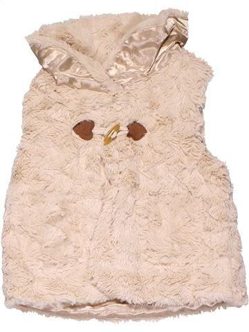 Vest girl MATALAN beige 12 months winter #12747_1