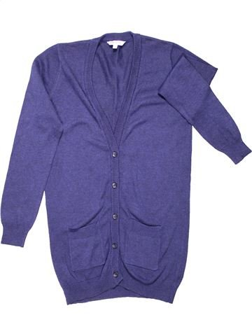 Blazer girl MISS E-VIE purple 10 years winter #1287_1