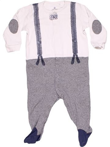 Long jumpsuit unisex NEXT BABY gray 9 months winter #12943_1