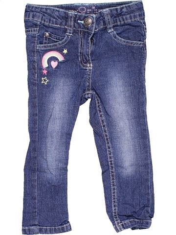 Jeans girl LUPILU blue 18 months winter #12985_1