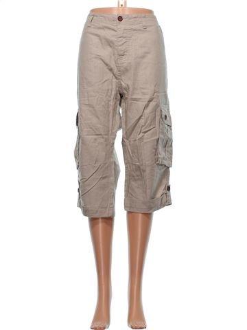Cropped Trouser woman CEDAR WOOD STATE UK 16 (L) summer #13133_1