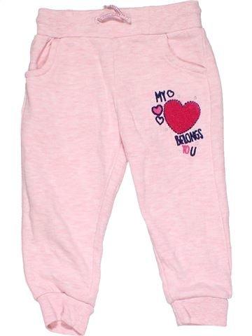 Trouser girl F&F pink 18 months winter #13245_1