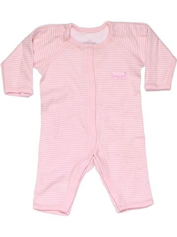 Long jumpsuit girl GEORGE pink new born winter #13257_1