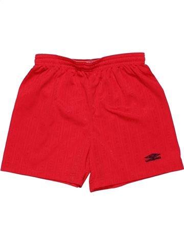 Sports short boy UMBRO red 9 years summer #13709_1
