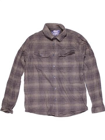 Long sleeve shirt boy REBEL purple 13 years winter #14125_1