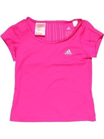 Sportswear girl ADIDAS pink 4 years summer #14383_1
