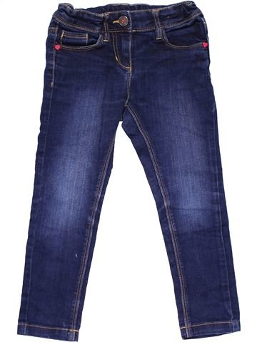 Jeans girl PALOMINO blue 4 years winter #14443_1