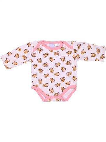 Long jumpsuit girl DISNEY BABY pink 1 month summer #1452_1