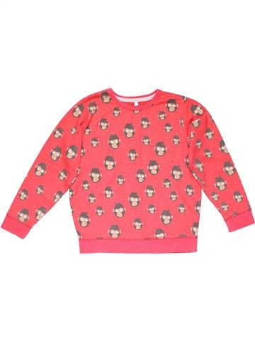 Sweatshirt boy M&S pink 7 years winter #14566_1