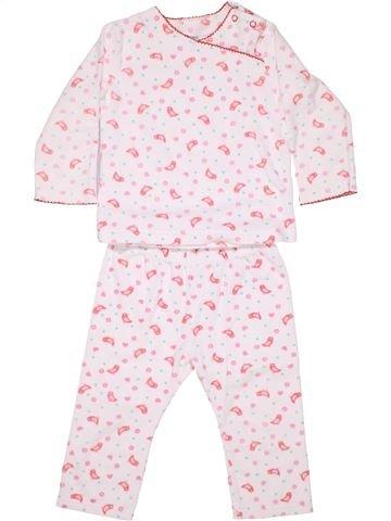 2 pieces Pyjama girl HEMA pink 2 years winter #1474_1