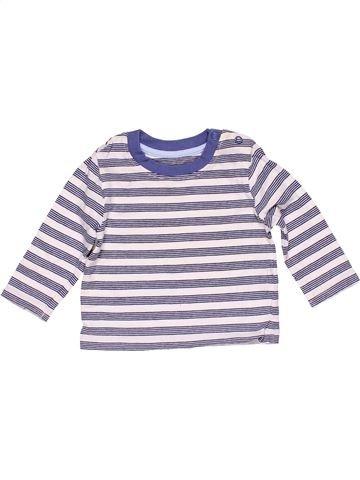 Long sleeve T-shirt unisex MATALAN gray 3 months winter #14961_1