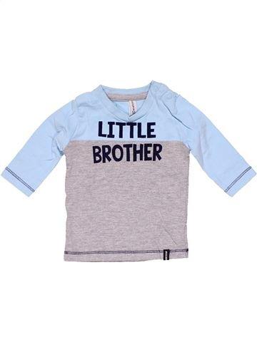 Long sleeve T-shirt boy NEWBORN gray new born winter #14985_1