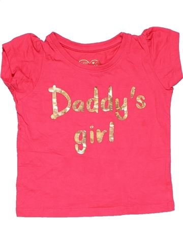 Long sleeve T-shirt girl YOUNG DIMENSION red 18 months summer #15169_1