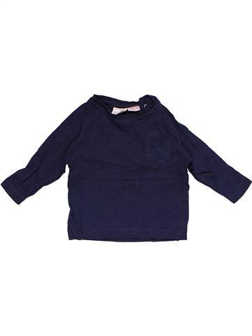 Long sleeve blouse boy ZARA blue 6 months winter #15302_1