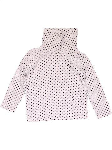 Turtleneck T-shirt girl LUPILU white 3 years winter #15500_1