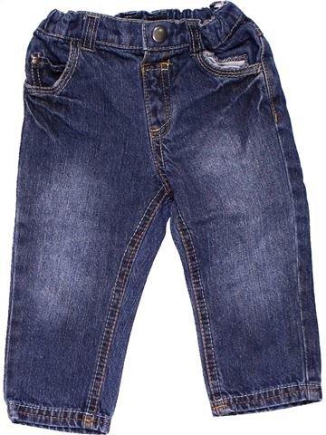 Jeans unisex BABY CLUB blue 12 months winter #15505_1