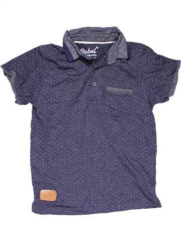 Short sleeve polo shirt boy PRIMARK purple 8 years summer #15730_1