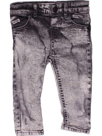 Jeans boy RIVER ISLAND gray 12 months summer #15815_1