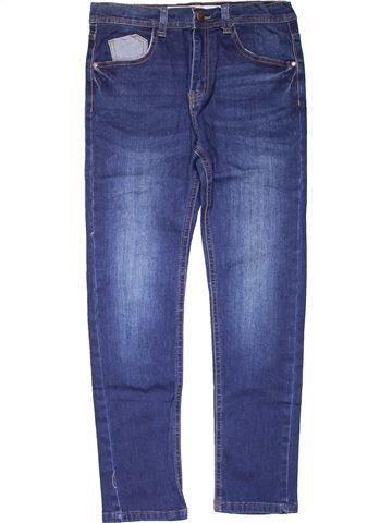 Jeans girl DENIM CO blue 12 years summer #15887_1