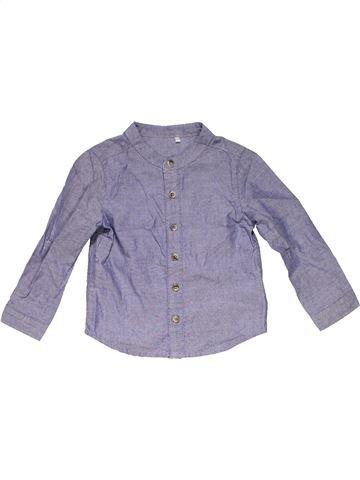 Long sleeve blouse unisex TU gray 12 months winter #15941_1