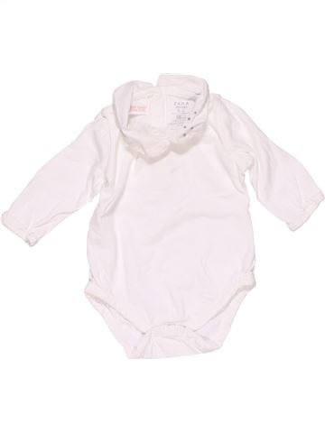 Long jumpsuit unisex ZARA white 1 month summer #15977_1