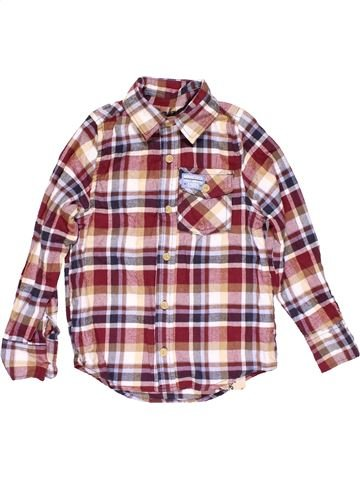 Long sleeve shirt boy REBEL beige 8 years winter #16078_1