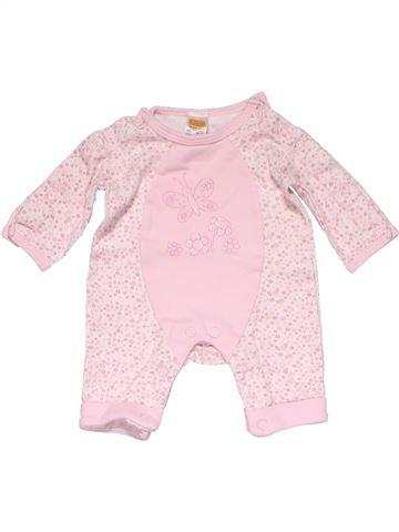 Long jumpsuit girl MINI MODE pink new born winter #16312_1