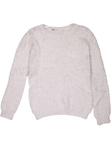 Jumper girl H&M white 10 years winter #16331_1