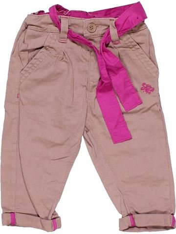 Trouser girl M&S pink 9 months winter #16885_1