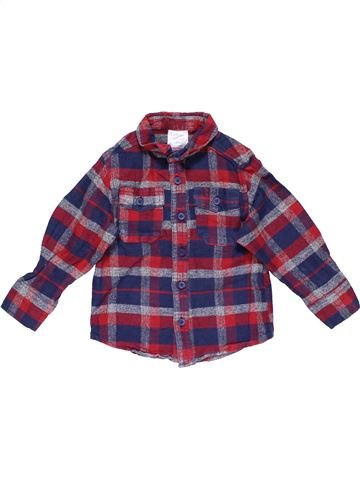 Long sleeve shirt boy URBAN RASCALS purple 3 years winter #16959_1