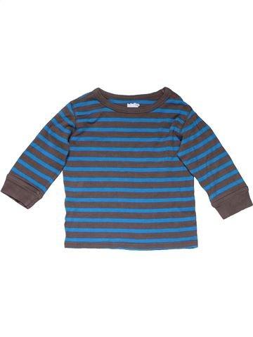 Long sleeve T-shirt boy BABY GAP blue 2 years winter #17286_1