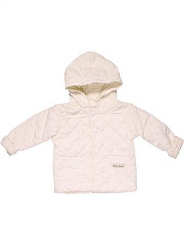 Jacket girl MY PETITE BEAU white 9 months winter #17765_1