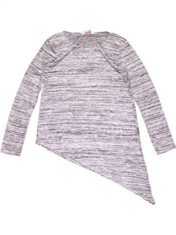 Long sleeve T-shirt girl MISS E-VIE white 12 years summer #18134_1