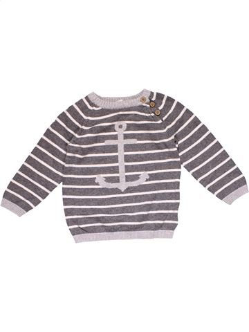 Jumper boy H&M gray 12 months winter #18352_1