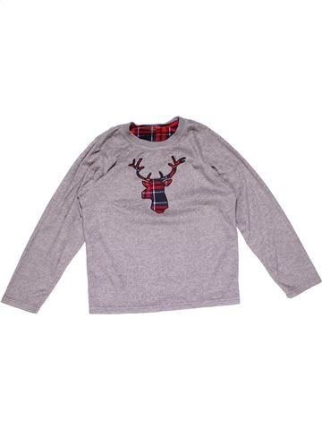 Long sleeve T-shirt boy PRIMARK gray 10 years winter #18525_1
