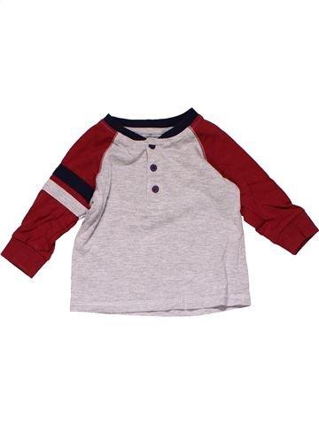 Long sleeve T-shirt boy MATALAN white 6 months winter #18533_1
